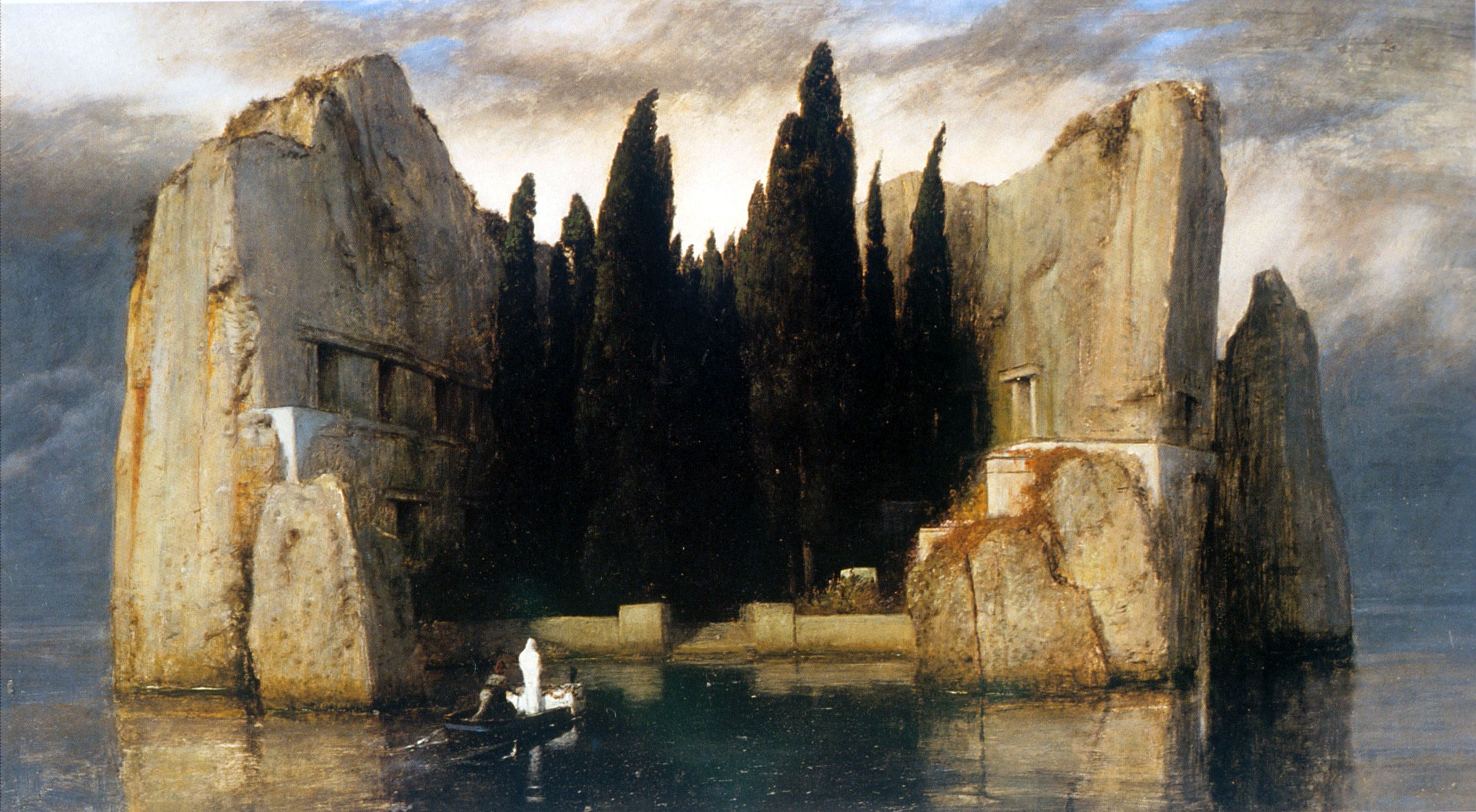 Arnold Boecklin - Island of the Dead, Third Version