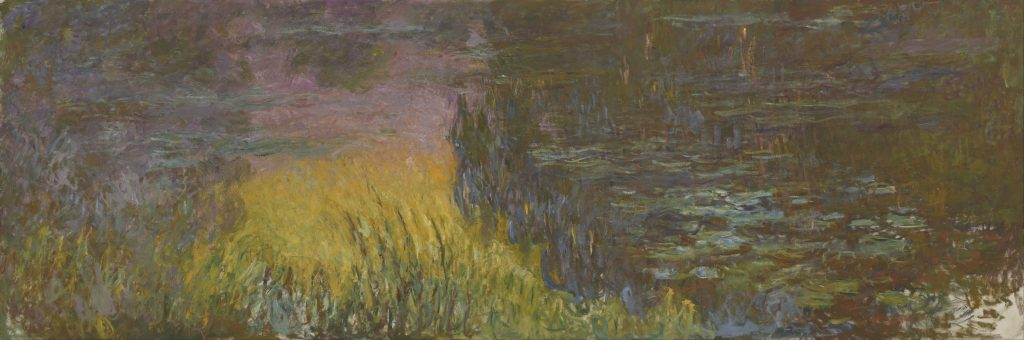 Claude Monet, The Waterlilies, Setting Sun.