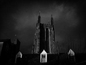 St Cuthbert's tower.