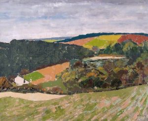 The Chilterns over Fawley Bottom, Buckinghamshire Noel Gregory Baguley (1898–1980)