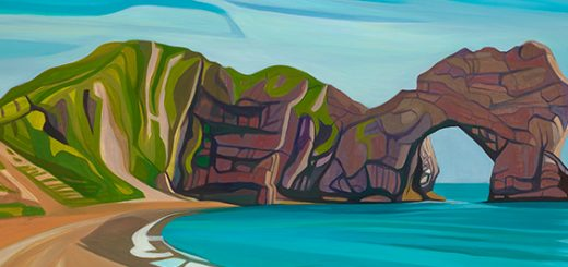 Lulworth by Anna Dillon